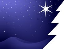 Christmas beauty night Royalty Free Stock Image