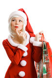 Christmas beauty Santa Claus Stock Image