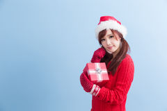 Christmas Beauty Woman Royalty Free Stock Images
