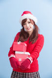 Christmas beauty woman Royalty Free Stock Photo