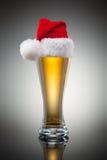 Christmas beer mug Stock Image