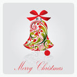 Christmas bell. Royalty Free Stock Photos