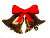 Christmas bell Stock Photos