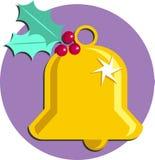 Christmas Bell. Festive Christmas bell design Stock Photo