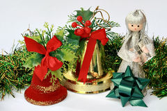 Free Christmas Bell And Fairy Stock Images - 1559964