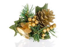 Christmas bell decorations stock images