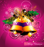 Christmas bell  illustration Stock Photography