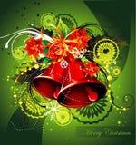 Christmas bell  illustration Stock Photography