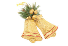Christmas bell isolated Royalty Free Stock Photo