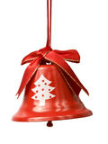 Christmas bell isolated on white Royalty Free Stock Image