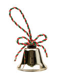 Christmas bell isolated on white background Royalty Free Stock Photos
