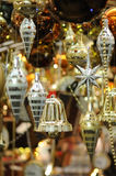 Christmas bell and ornaments Stock Photo