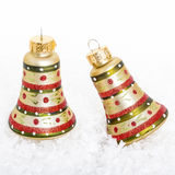 Christmas Bell Ornaments Royalty Free Stock Images