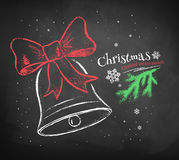 Christmas Bell. Royalty Free Stock Images