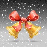 Christmas bell stock illustration