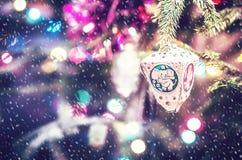 Christmas bell Stock Image