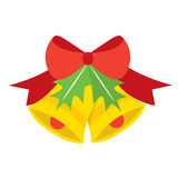 Christmas Bell Vector Illustration Stock Images