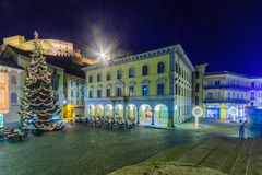Christmas in Bellinzona Royalty Free Stock Images