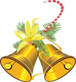 Christmas bells stock illustration