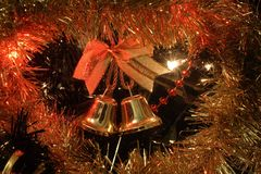 Christmas bells Stock Image