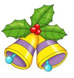 Christmas bells royalty free illustration