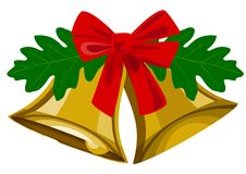 Christmas bells Royalty Free Stock Images