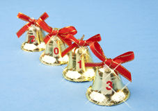 Christmas bells 2013 Royalty Free Stock Photography