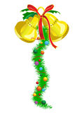 Christmas bells. With decoration ornament Stock Photo