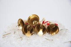 Christmas bells background Stock Photos