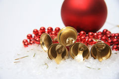 Christmas bells background Royalty Free Stock Image