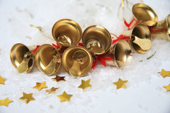 Christmas bells background Royalty Free Stock Photo