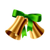 Christmas bells. Vector illustration of Christmas bells Royalty Free Stock Photography