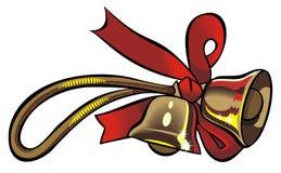 Christmas bells. Element for design, vector illustration Stock Photography