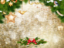Christmas bells Background. EPS 10 Stock Photography
