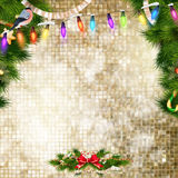 Christmas bells Background. EPS 10 Royalty Free Stock Photography
