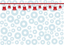 Christmas Bells Background Stock Image