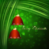 Christmas Bells Card. Stock Images