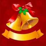 Christmas bells Design Royalty Free Stock Photos