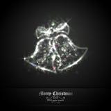 Christmas Bells of Glittering Lights stock illustration