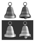 Christmas bells in grey Royalty Free Stock Photography