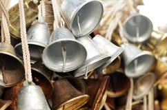 Christmas bells hanging at Faber Peak , Singapore. Royalty Free Stock Image
