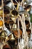 Christmas bells hanging at Faber Peak, Singapore. Stock Photo