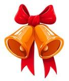 Christmas bells illustration Stock Image