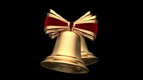 Christmas bells stock footage