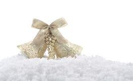 Christmas bells ornament Stock Photo