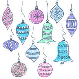Christmas bells vector illustration Royalty Free Stock Photo