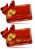 Christmas Bells Web Banner Royalty Free Stock Images