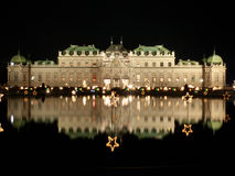 Christmas at Belvedere Palace Stock Images