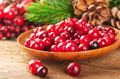 Christmas berries Stock Photo