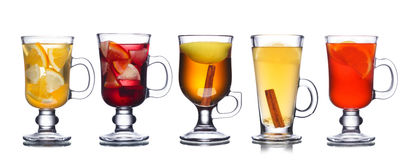 Christmas beverages Royalty Free Stock Images